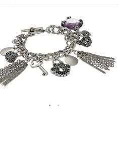 ALEX AND ANI Muse chain charm bracelet